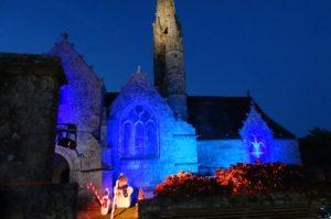 misse en lumière église de Pluguffan par C3S Numériques